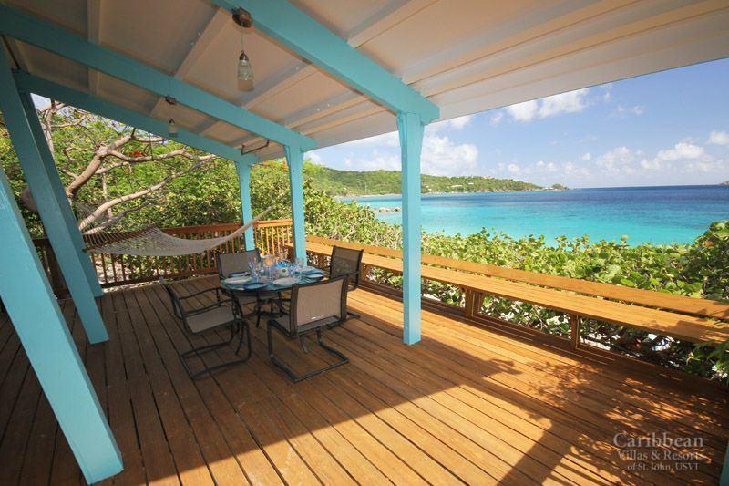 Beach Cottage Lime Tree Cove St John Usvi Caribbean