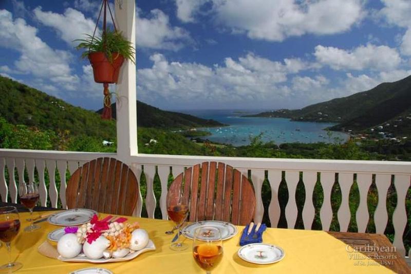 La Bella Villa - Dining with a view