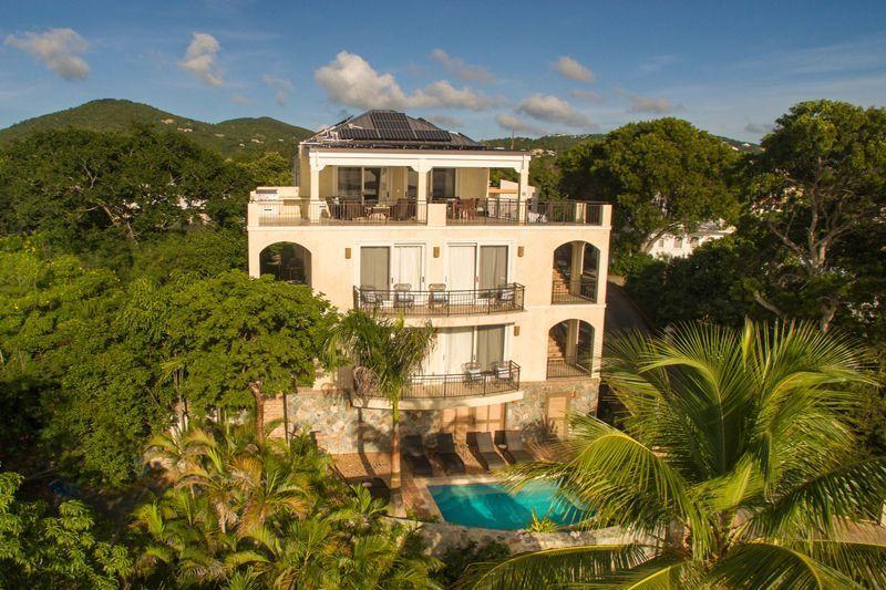 A pellican's view of Bougainvillea Villa